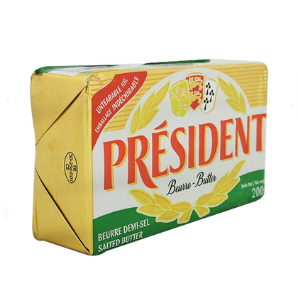Mantequilla President con Sal